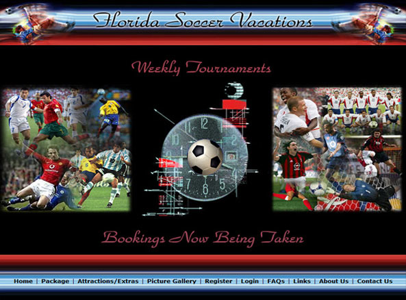 Florida Soccer Vacations Home
